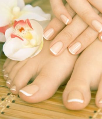 Manicure Add On – French Tip